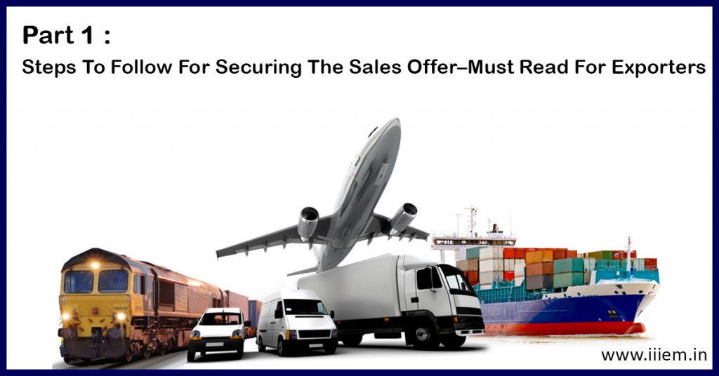 Steps to Follow for Securing the Sales Offer