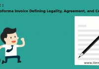 The Proforma Invoice Defining Legality, Agreement, and Cost