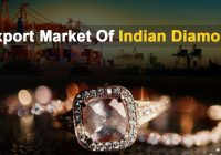 Indian Diamond export market