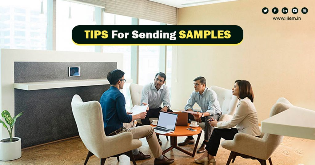 6 tips for sending samples to foreign buyers