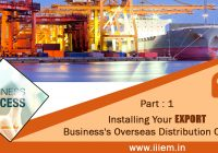 Installing Your Export Business's Overseas Distribution Channel