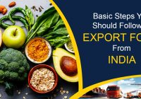 Basic Steps You Should Follow to Export Food From India