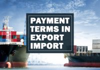 Payment terms in Export and Import