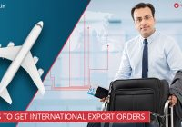 Ways to get International export orders