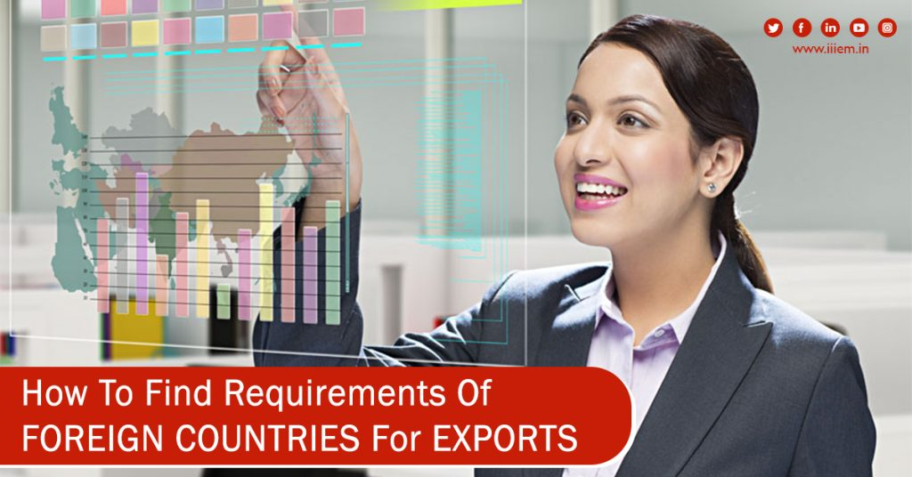 How to Find Requirements of Foreign Countries For Exports