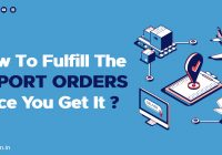 How to fulfill export order