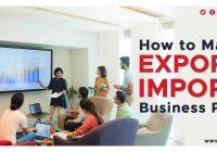 export- import business plan