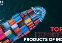 top exported products of India